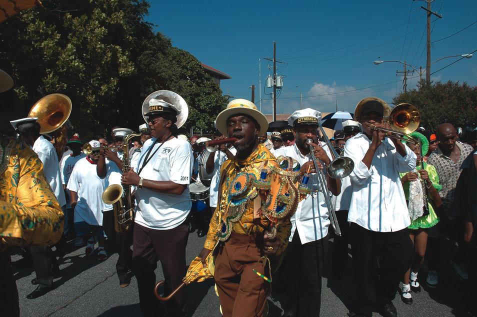 New Orleans Second Lines Grand Procession