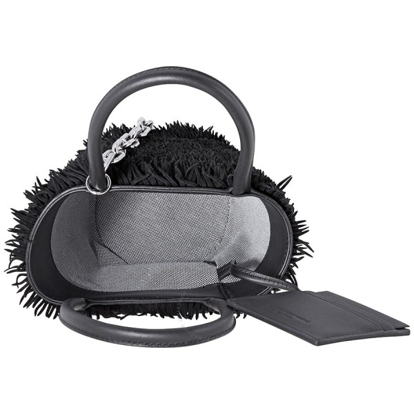 Alexander Wang Ladies Hobo Bag Roxy Mini Bucket- Black - Handbags Jomashop