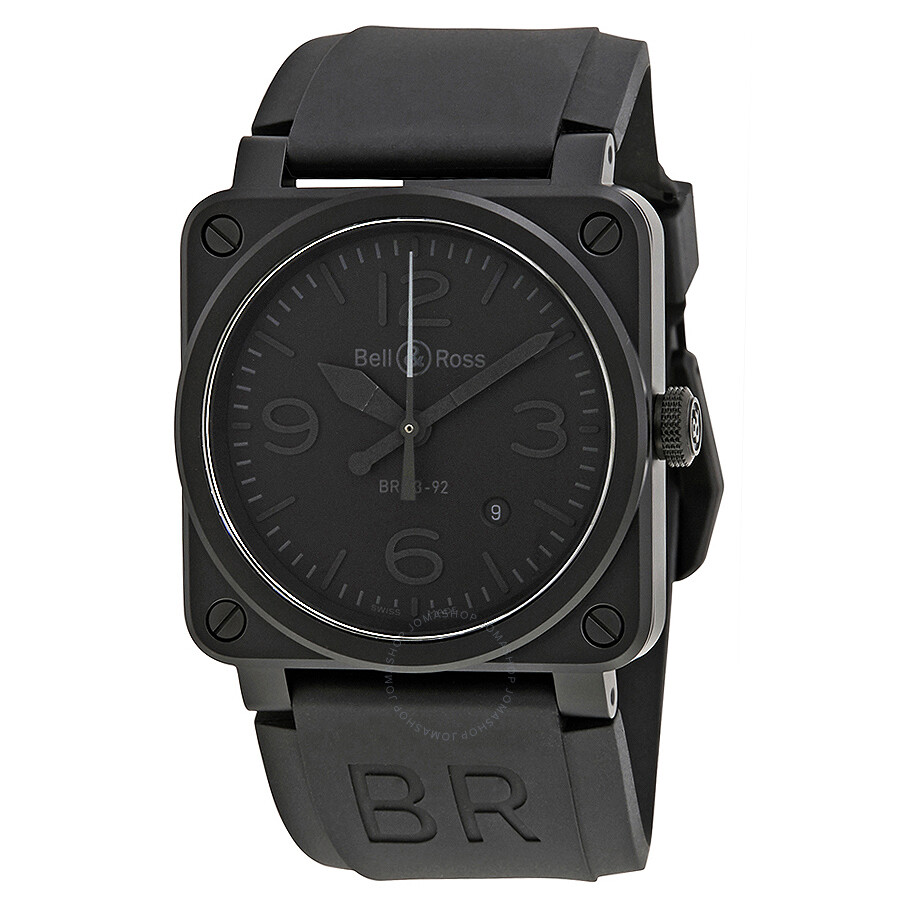 Bell And Ross Aviation Phantom All Black Dial Automatic