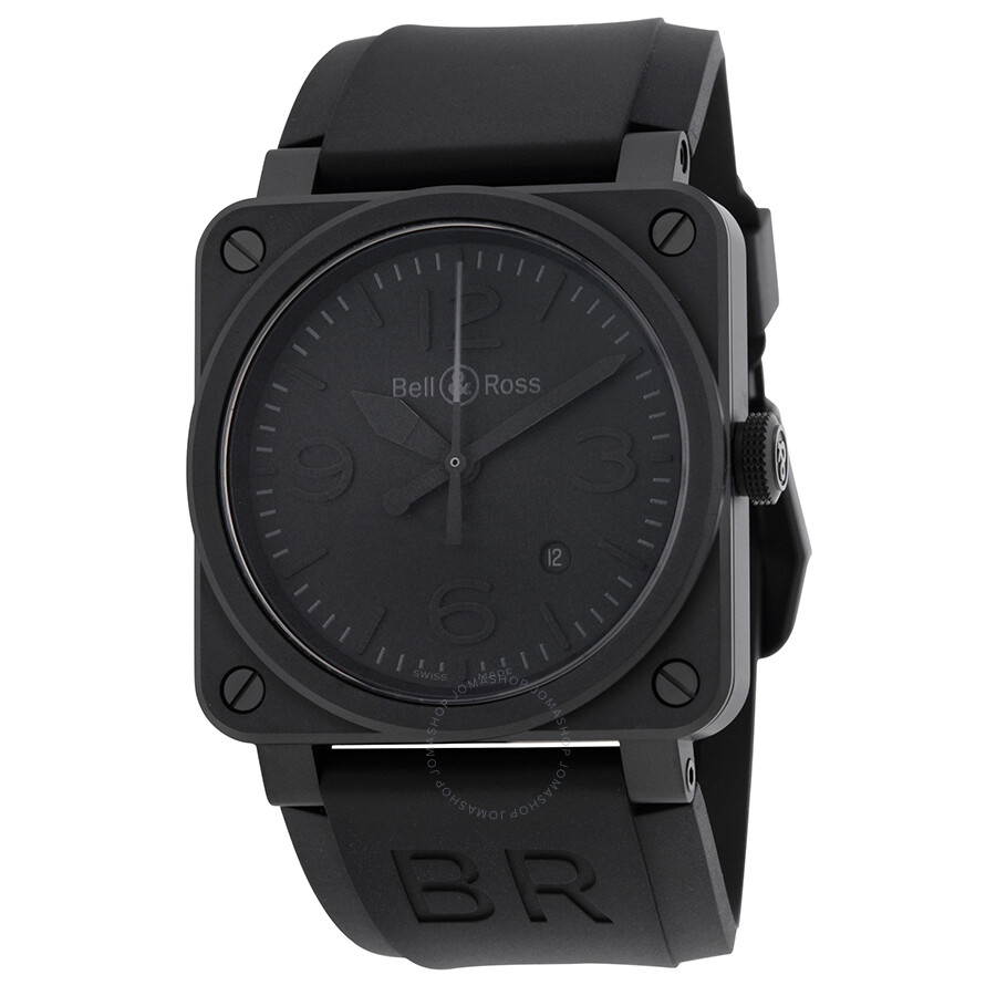 Bell & Ross Phantom Automatic Black Dial Men's Watch