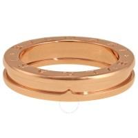 Bvlgari B.Zero1 18k Rose Gold 1-Band Ring AN852422 ...