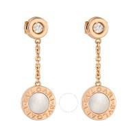 Bvlgari Bvlgari 18K Pink Gold Mother of Pearl Diamond ...