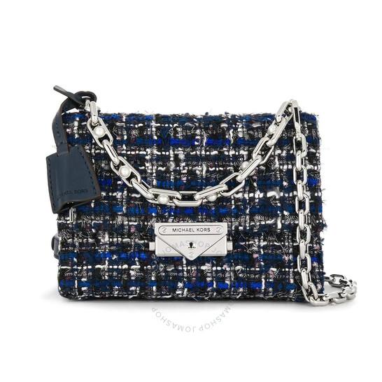 Michael Kors Ladies Cece Mini Tweed Crossbody Bag - 546x546