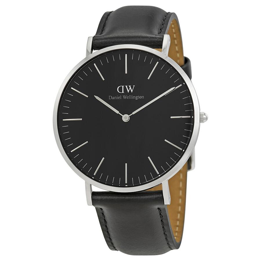 Daniel Wellington Classic Black Sheffield 40mm Watch DW00100133 - Daniel Wellington - Watches - Jomashop