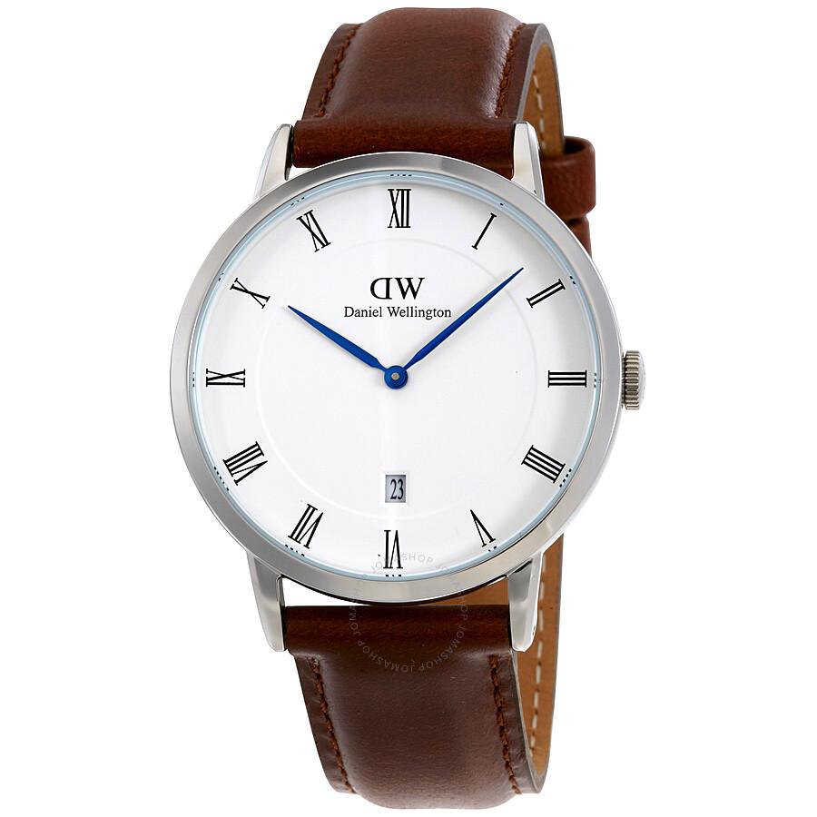 Daniel Wellington Dapper St. Mawes White Dial Men's Watch 1120DW - Daniel Wellington - Watches - Jomashop