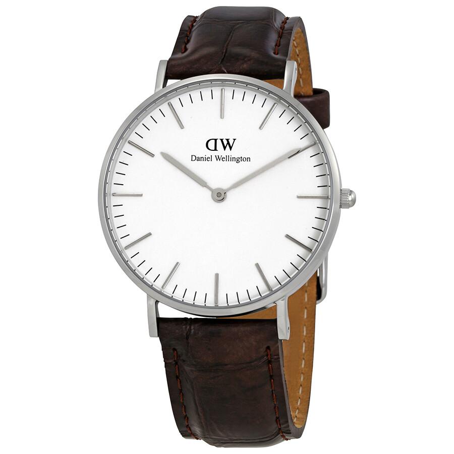 Daniel Wellington York White Dial Ladies Watch DW00100055 DW00100055 - Watches. Daniel Wellington - Jomashop