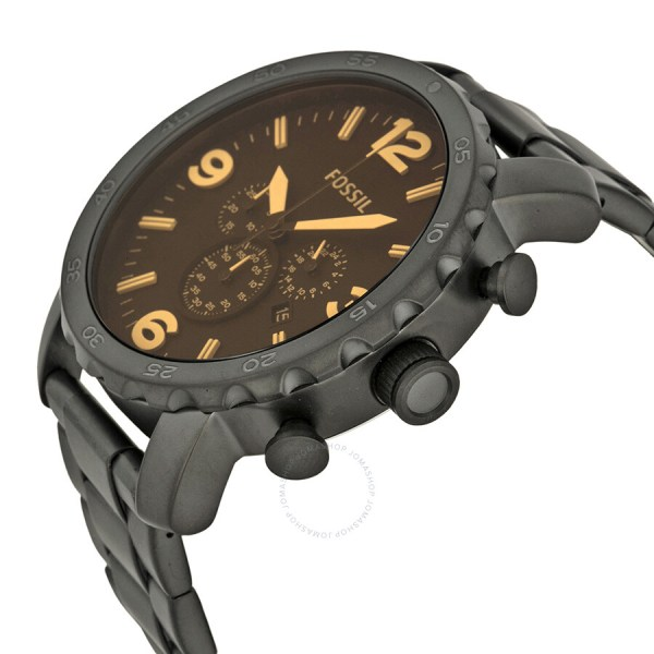Fossil Nate Chronograph Black Watch