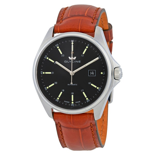 Glycine Combat 6 Automatic Black Dial Men' Watch 3890.19