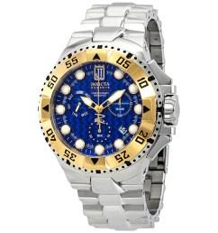 invicta jason taylor chronograph blue dial men s watch 17844  [ 900 x 900 Pixel ]