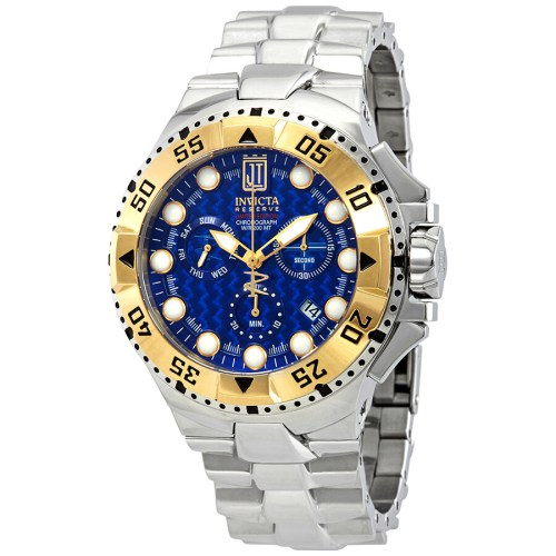 small resolution of invicta jason taylor chronograph blue dial men s watch 17844