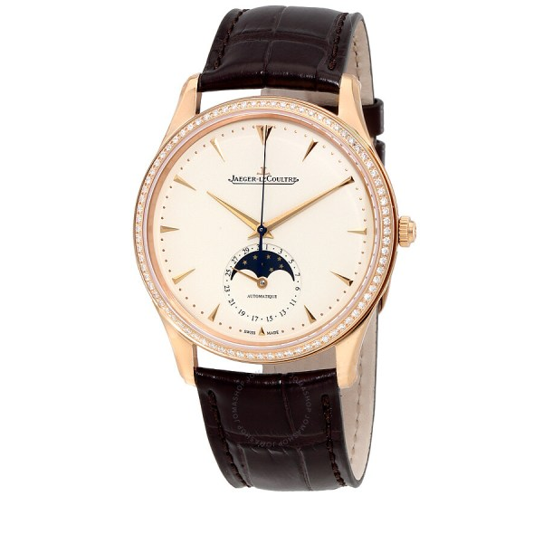 Jaeger Lecoultre Master Ultra Thin Automatic Diamond Rose