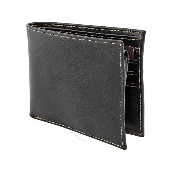Joseph Abboud Passcase Black Leather Wallet Ja0074 - Handbags & Accessories Jomashop