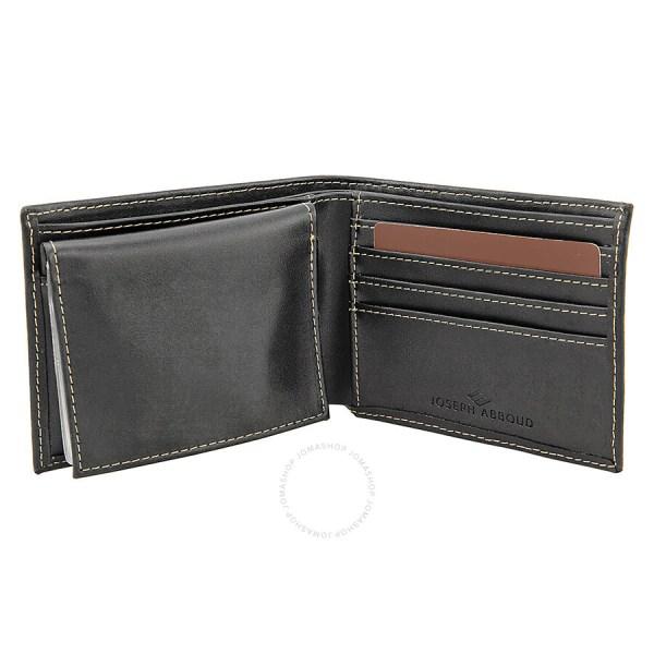 Black Joseph Abboud Wallets
