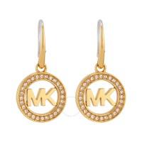 Michael Kors Logo Gold-Tone Earrings MKJ4794710 - Michael ...