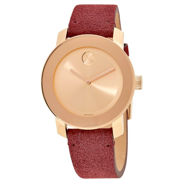 05aea9662 Movado Bold Rose Gold Watch - Year of Clean Water