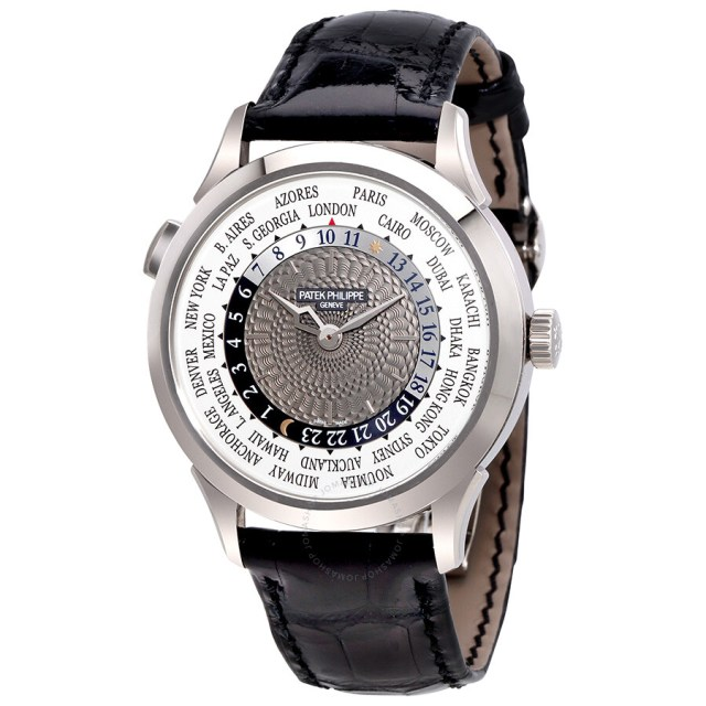 Patek Philippe Complications 18kt White Gold Automatic Mens Watch 5230g 001