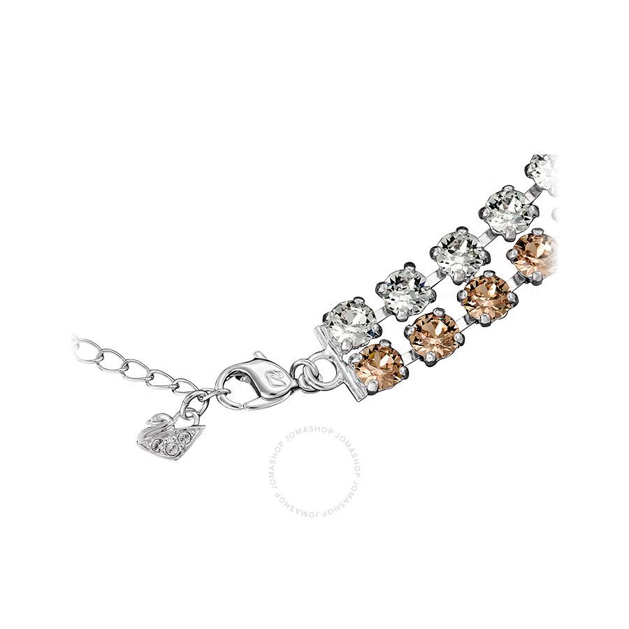 Swarovski Crystal Hot All-Around Vintage Rose Necklace