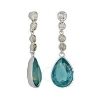 Swarovski Meringue Montana Pierced Earrings 1062667 ...