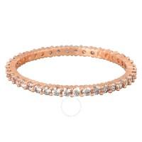Swarovski Vittore Rose Gold-Plated Ring Size 8 - Swarovski ...