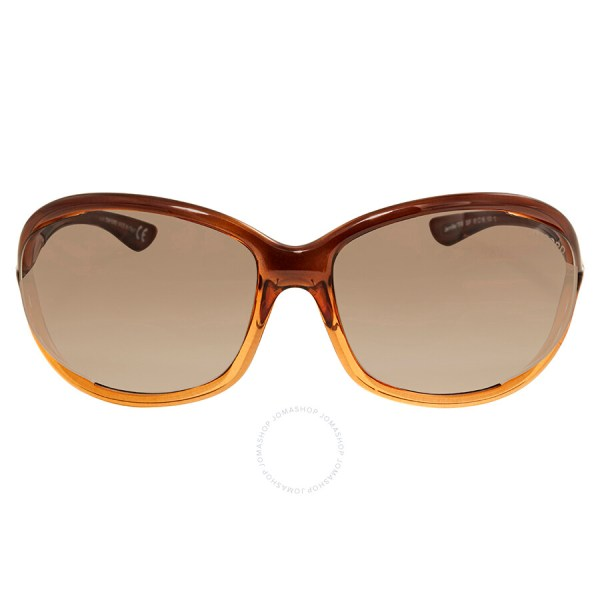 Tom Ford Jennifer Brown Gradient Sunglasses Ft0008-50f