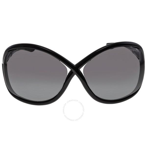 Tom Ford Whitney Black Smoke Sunglasses Tf0009-199