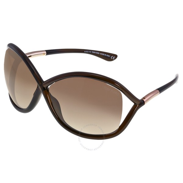 Tom Ford Whitney Sunglasses Brown