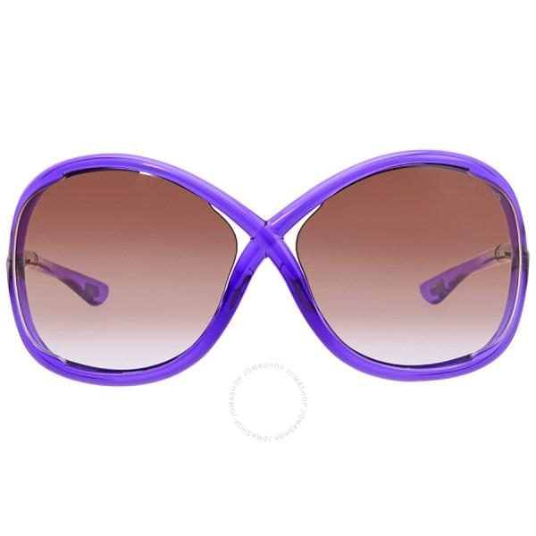 Tom Ford Whitney Violet Sunglasses