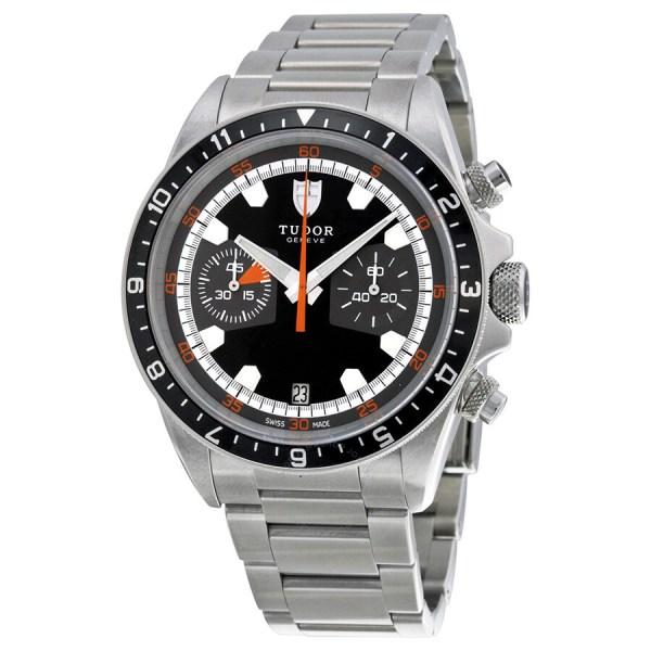 Tudor Heritage Black Dial Stainless Steel Men's Watch ...