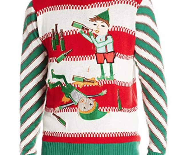 This Sweater Is Perfect For Anyone Whos Planning On Getting Wastey Pants With Their Friends On National Ugly