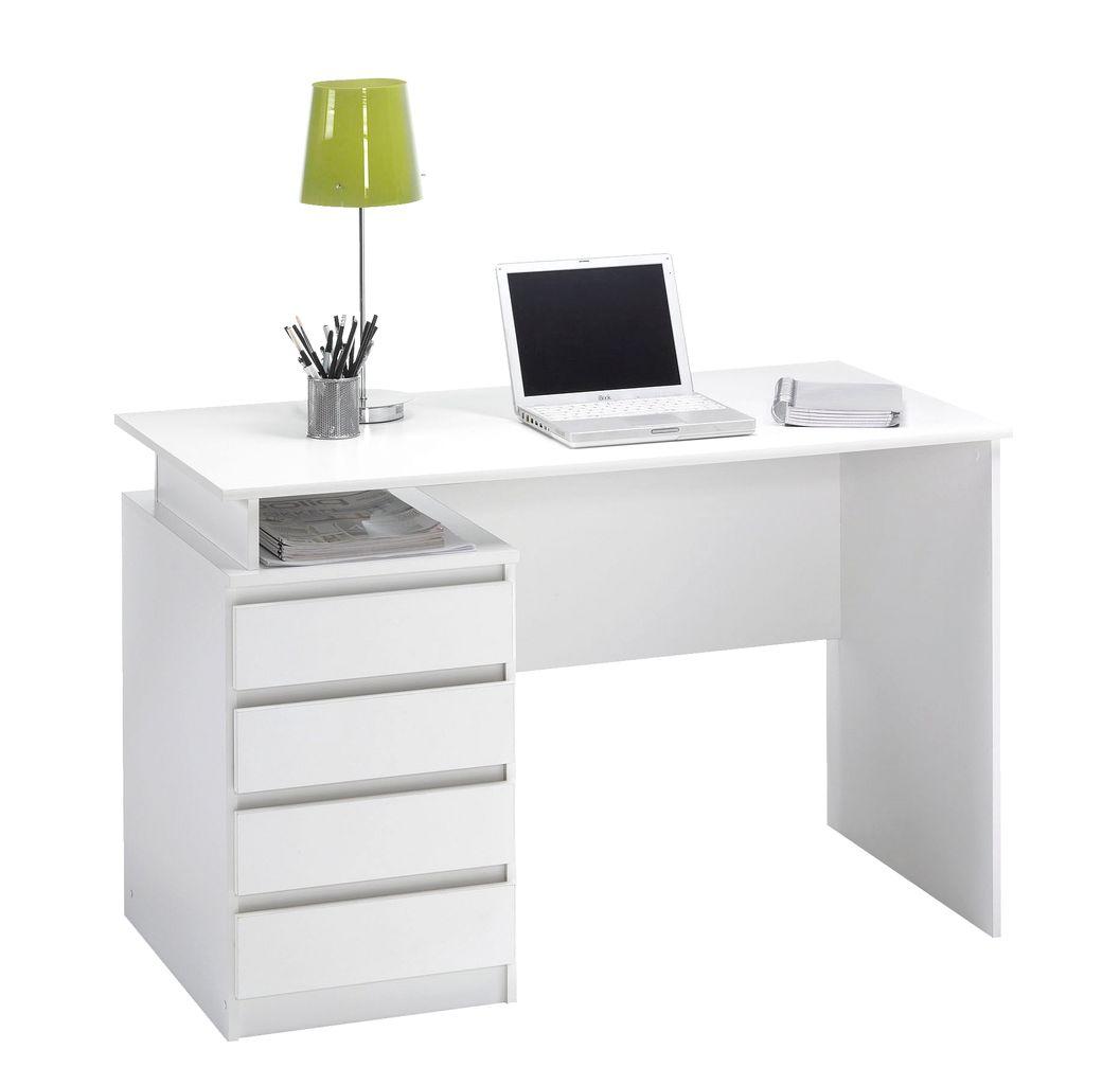 desk chair jysk light blue dining chairs mesinge 4 drawers white
