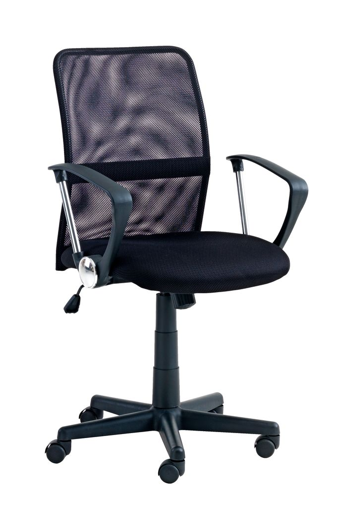 desk chair jysk executive high back office dalmose black