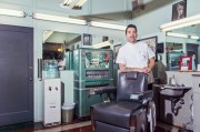 school barber offers haircuts