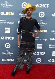 Billy Porter' Journey Red Carpet Style Icon