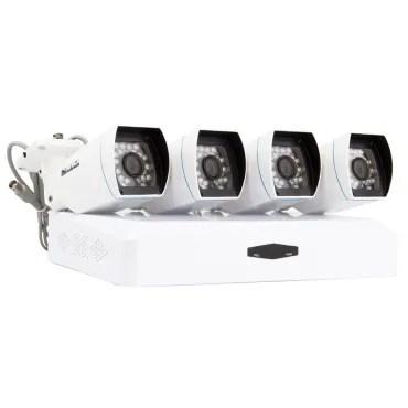 Kit di 4 Telecamere CCTV Bullet AHD & Registratore DVR HD