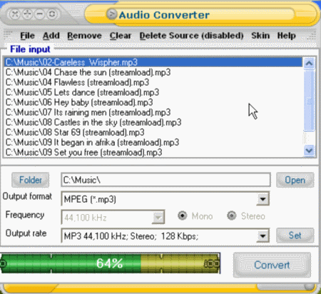 Convert MP2 to MP3 online | blogger.com