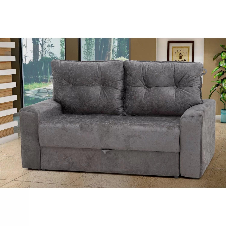 abrir sofa cama beddinge artistic sofas long eaton sofá retrátil 2 lugares hebe matrix cinza ge r 699