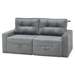 Sofa Cama Walmart Brasil Arhaus Sleeper Sofas Sofá 2 Lugares Sofia Matrix Cinza R 899 90 Em