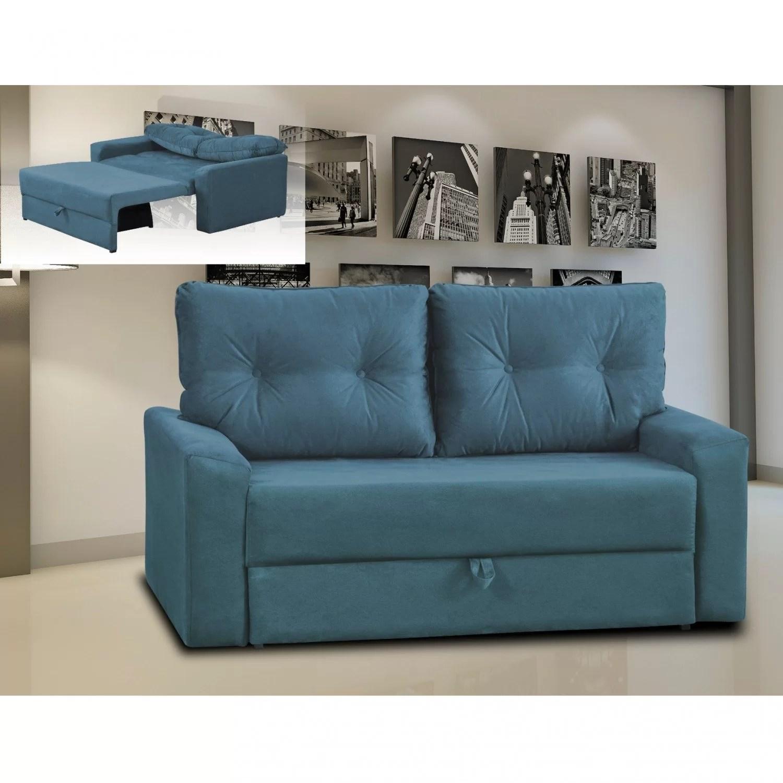 abrir sofa cama beddinge who makes the best quality sofas 2018 sofá retrátil 2 lugares hebe matrix azul fewt r