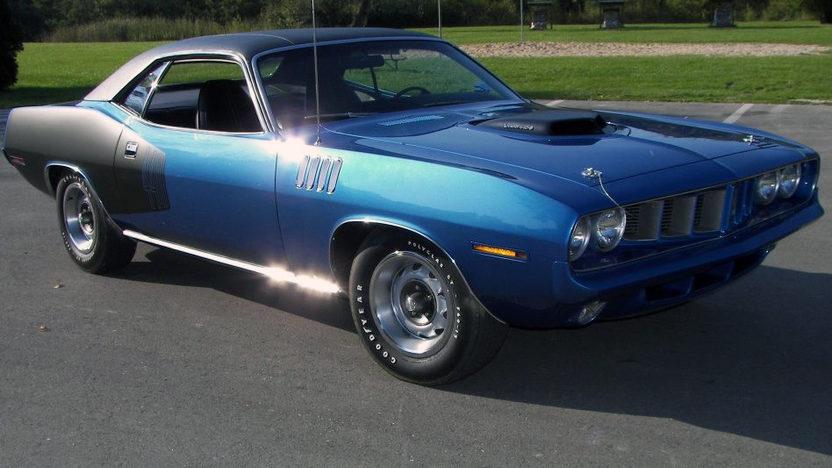 1971 Plymouth Cuda S207 Kissimmee 2012