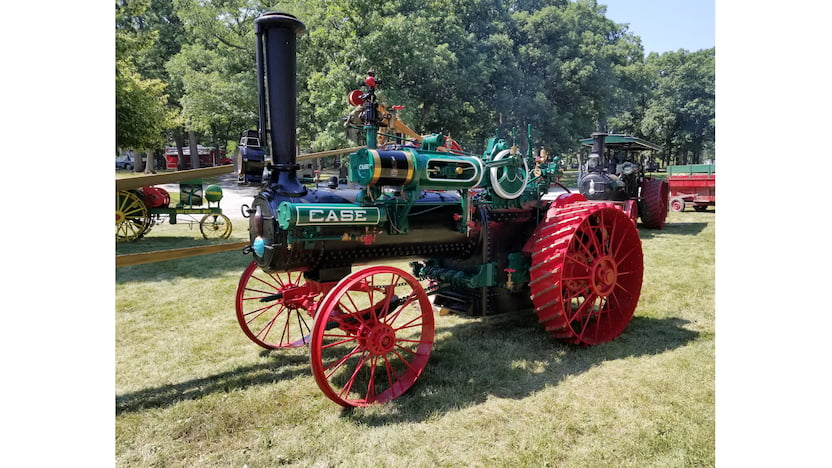 Case Steam Traction Engine For Sale