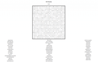 Beware of self-satisfying word search puzzles! » MobyLives
