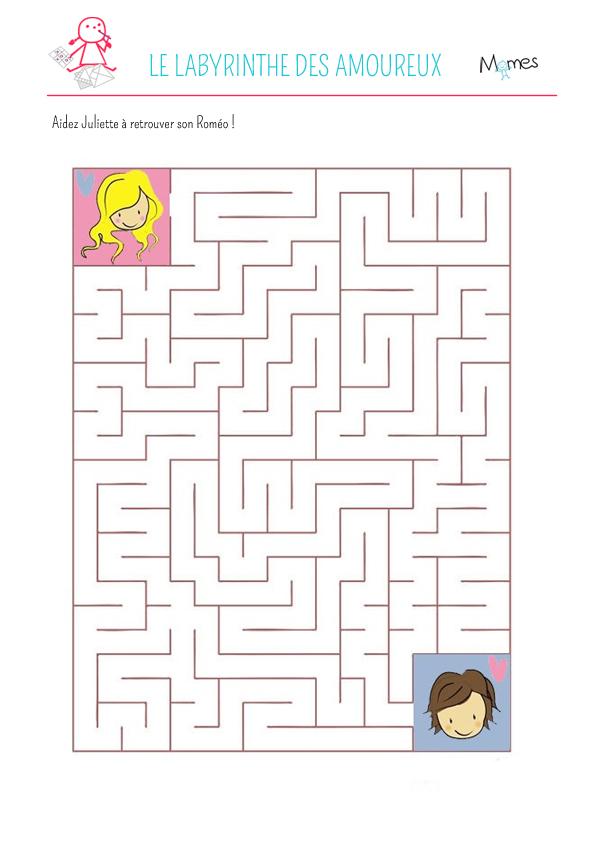 Le Labyrinthe Des Amoureux Momes Net