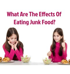 What Are The Effects Of Eating Junk Food For Kids? [ 1350 x 1200 Pixel ]