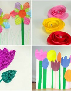 How to make paper flowers for kids also chart flower making goal blockety rh