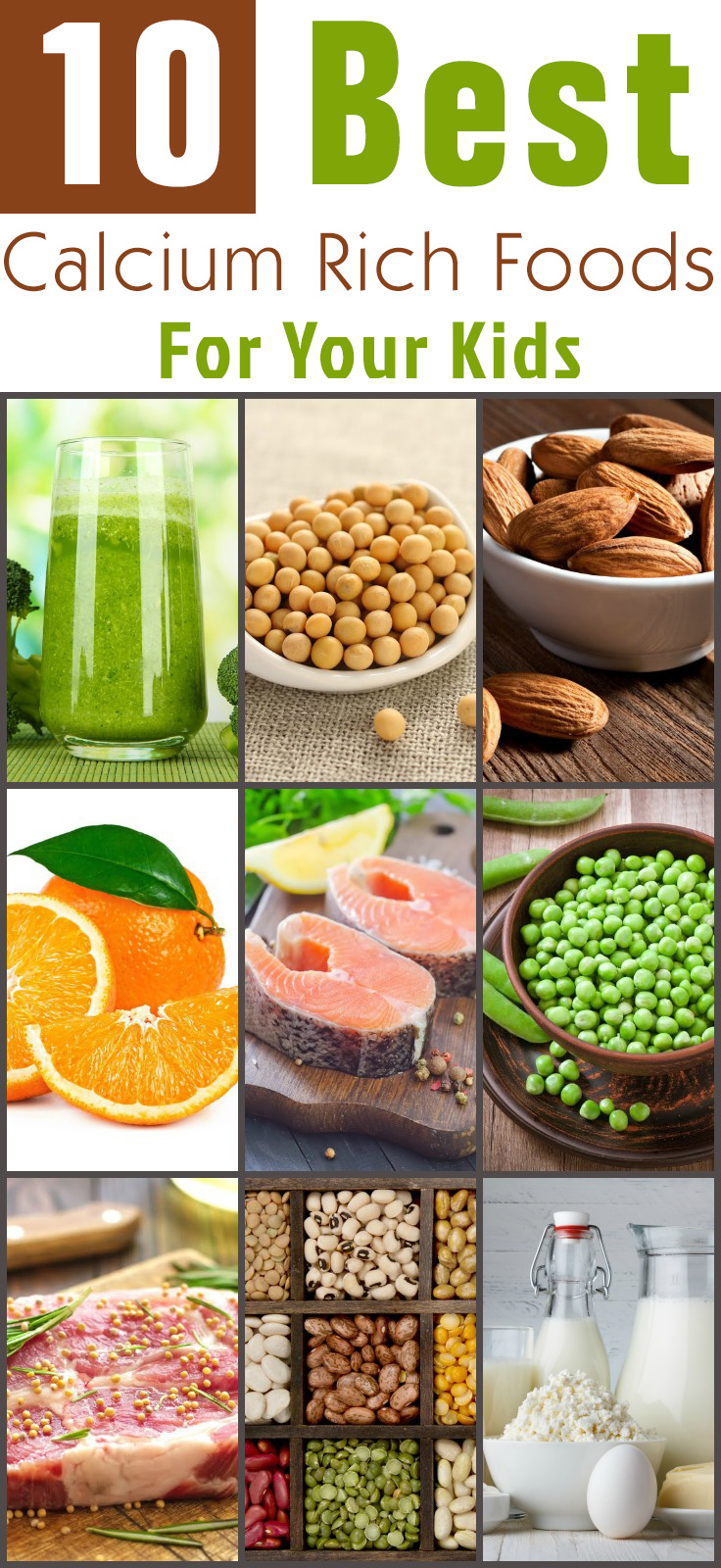 10 Best Food Sources Of Calcium For Kids