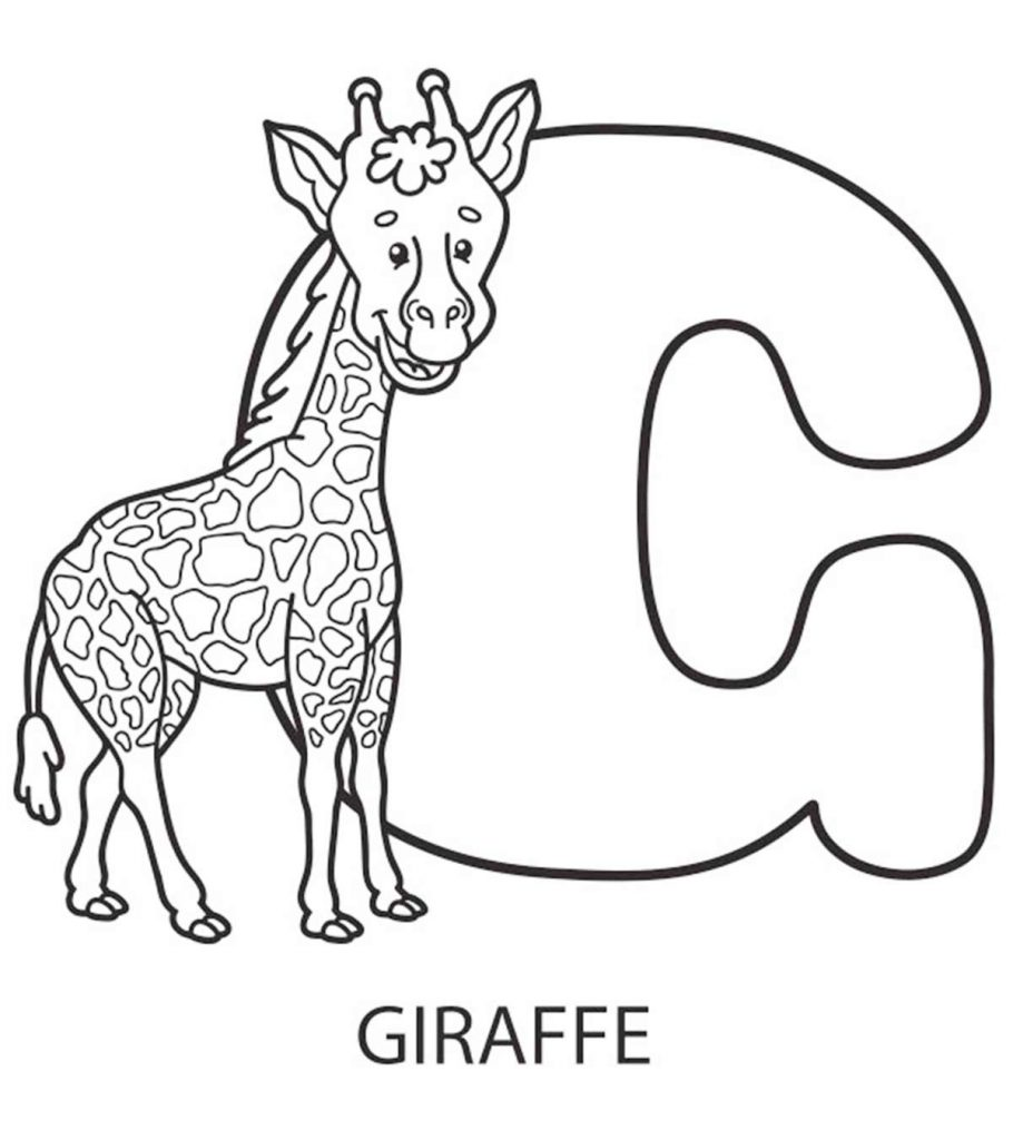 Alphabet Coloring Pages Your Toddler Will Love | coloring pages for toddlers