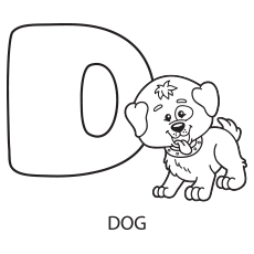 letters coloring pages # 4