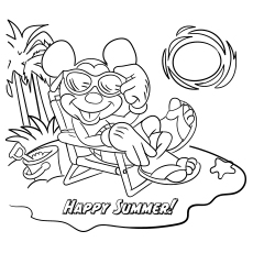 Top 75 Free Printable Mickey Mouse Coloring Pages Online