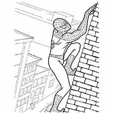 coloring pages of spiderman # 19