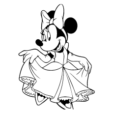 Top 25 Free Printable Cute Minnie Mouse Coloring Pages Online